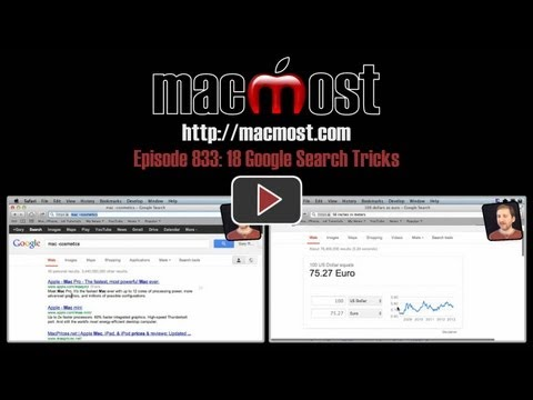 Xxx Mp4 18 Google Search Tricks MacMost Now 833 3gp Sex