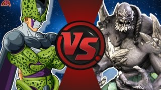 CELL vs DOOMSDAY! (Dragon Ball Z vs DC Comics) Cartoon Fight Club Bonus Episode 13