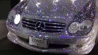 Swarovski Mercedes Benz covered in over 300,000 crystals!