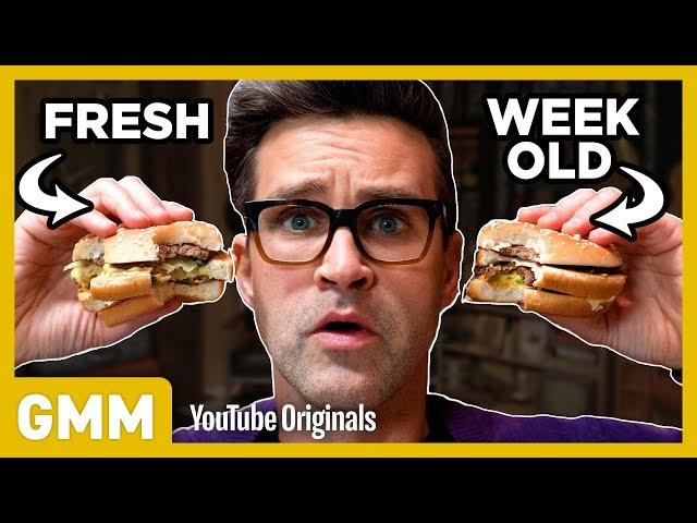 Week Old McDonald's Taste Test