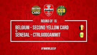 Belgium vs Senegal   SecondYellowCard vs CtrlGodDammit   Football Manager 2018   #FMWorldCup