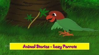 Lazy Parrots | Aalsu Popat | Animal Stories Gujarati for Kids | Gujarati Varta