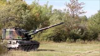 Tir d'AuF1 au 40ème Régiment d'Artillerie