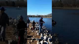 Fishing at Frank Liske