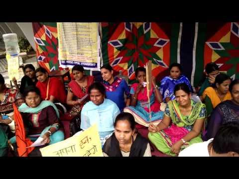 Nurses strike against retrograde 7th CPC...# ESIC Nacharam Hyderabad,