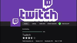 Easiest way to download Twitch.tv APK on Amazon Fire