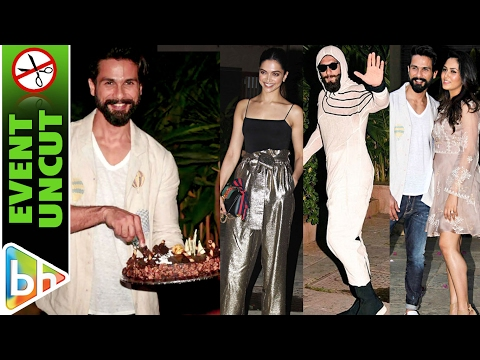 Shahid Kapoor Pre-Birthday Bash UNCUT | Ranveer Singh | Deepika Padukone | Katrina Kaif