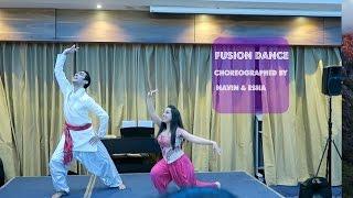 FUSION DANCE| Kuttanadan Punjayile - Kerala Boat Song (Vidya English Remix)