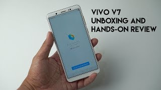 Vivo V7 Unboxing and Hands-On Review