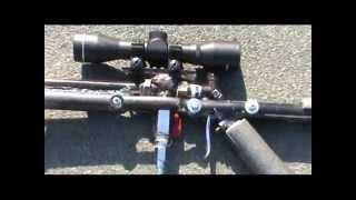 Homemade semi automatic airgun (bb airsoft sniper rifle)