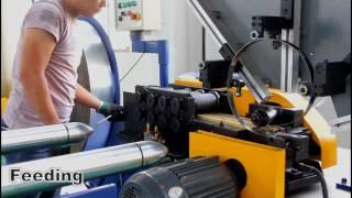 Nanjing Byfo BFL-1500 Spiral duct forming machine tubeformer