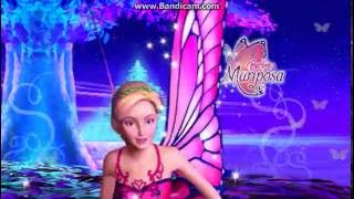 Opening to Barbie Mariposa and her Butterfly-Fairy Friends DVD Menu U.S.A