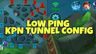 LOW PING MGC KPN TUNNEL CONFIG