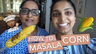How To Make Masala Corn! | Deepica Mutyala