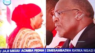 MJANE, Bi. SWAHABA MOHAMED ALIVYOMWAGA MACHOZI MBELE YA RAIS MAGUFULI AKIDAI KUDHULUMIWA MIRATHI