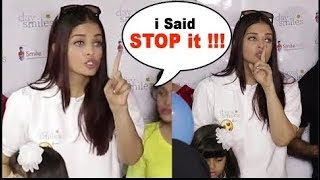 Aishwarya Rai Bachchan Gets Angry On Media Reporters Crying In Public | 2017 | BMF