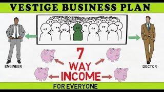 vestige business plan in hindi ( 2018), my vestige business plan ,  new vestige product business