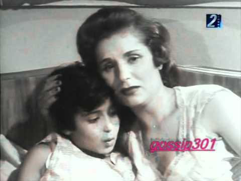 سهير رمزي وهي طفله في السادسه من عمرها في فيلم عام 1956م.
