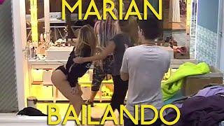 Marian Farjat Bailando con Dante Yasmila Azul #GH2016 Gran Hermano Argentina