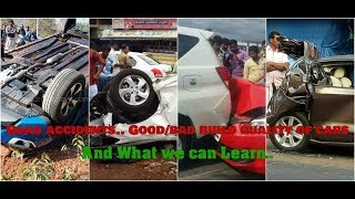 ROAD ACCIDENTS | BUILD QUALITY of CARS | WHAT WE CAN LEARN.