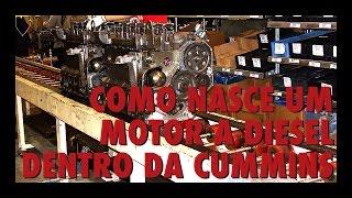 Como nasce um motor a diesel - Dentro da fábrica da Cummins