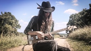 Playing Slide Guitar with a River Stone | BLUES
