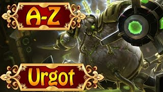 URGOT, Der Stolz des Scharfrichters - League of Legends A-Z