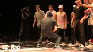 Breakdance Final BATTLE 2012      USA vs Jinjo Crew KOREA _ R16 bboy