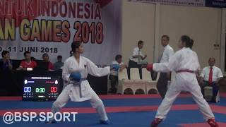 SELEKSI AKHIR ASIAN GAMES -KARATE 2018