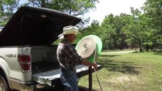 Kevin demonstrates Motorized Fire Hose Reel