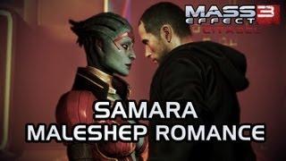 Mass Effect 3 Citadel DLC: Samara Romance (MaleShep)