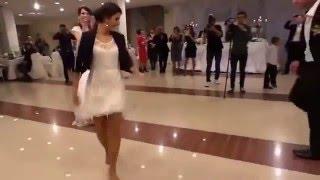Azərbaycanli qiz  2015 - هنر رقص بسیار زیبای دختر آذربایجانی در جشن عروسی