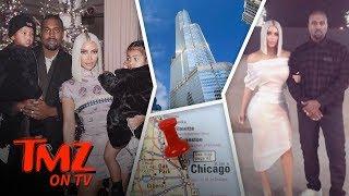 Kim And Kanye Take Over Chicago! | TMZ TV