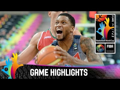 watch USA v Mexico - Game Highlights - Round of 16 - 2014 FIBA Basketball World Cup