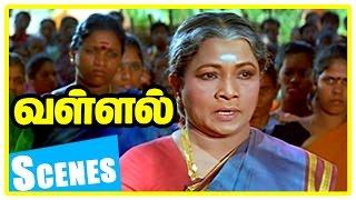 Vallal Tamil Movie Scenes | Sathyaraj is forced to marry Meena | Sangeetha is heartbroken | Manorama