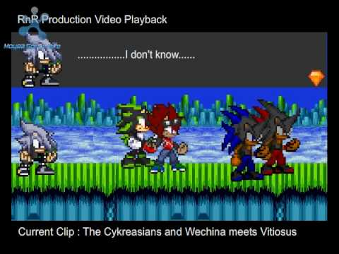 Sonic Flash Chaos Armageddon Episode 2 Part 3 Video 2 of 3