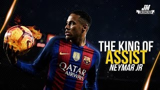 Neymar Jr ● THE KING OF ASSISTS - Ultimate Passes ● 2016/2017