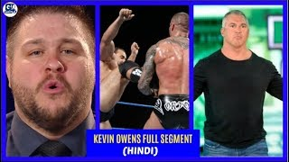 Kevin Owens Full Segment | Smack Down Live 19/09/2017 Highlights in Hindi