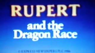 Opening of Rupert's Holiday Video VHS