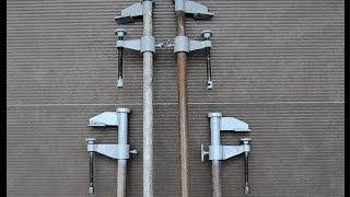 Homemade long Bar clamps