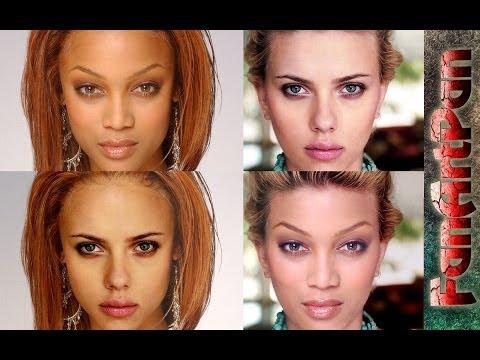 Как сделать лицо в фотошопе онлайн