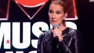 Celine Dion - 100% Tubes 2016 (M6 Music Show Interview, September/Septembre 7 2016)
