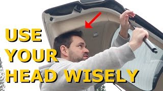 Lexus RX 350 Lift Gate Dropping When Cold Fixed