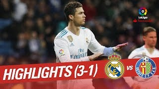 Resumen de Real Madrid vs Getafe CF (3-1)