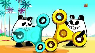 Meet Panda A Panda | New Kindergarten Cartoon Kids Show Fidget Spinner By Kids Channel
