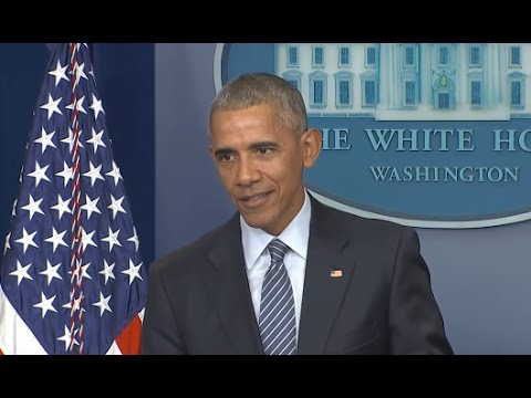 Obama Final Press Conference of 2016