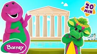 🍭 Barney's Around the World Adventure - Part 5 (Full Episode)