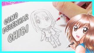 Como Desenhar Mangá  - Chibi