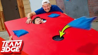 Extreme Corn Hole! | Below the Belt Edition!!