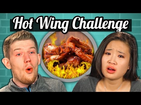 Xxx Mp4 ADULTS Vs FOOD HOT WINGS CHALLENGE 3gp Sex